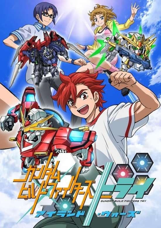 Gundam Build Fighters Try: Island Wars