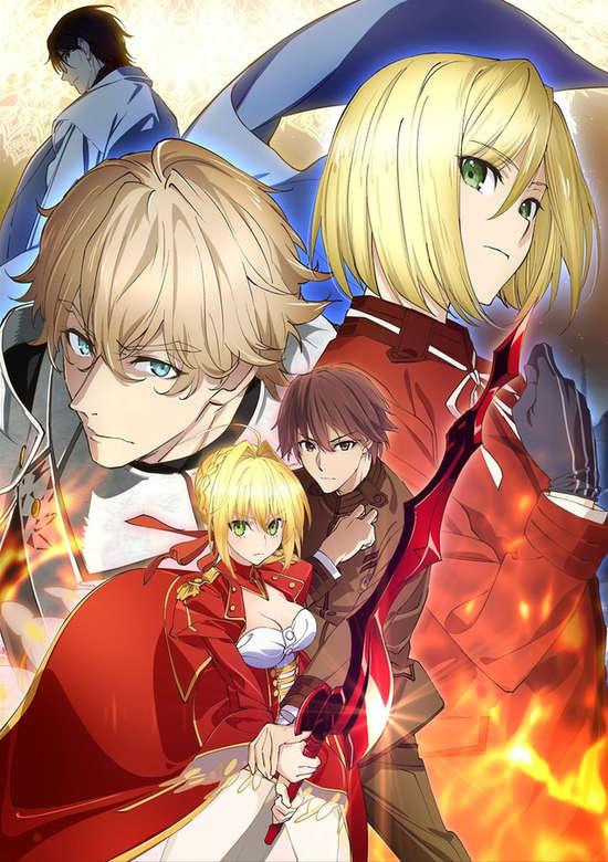 Fate/Extra: Last Encore - Irusterias Tendouron