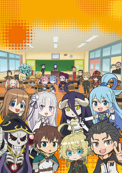 Isekai Quartet 2nd Season انمي