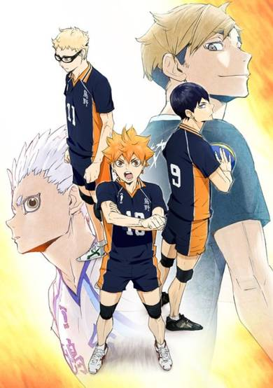 Haikyuu!!: To the Top انمي