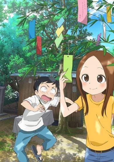 Karakai Jouzu no Takagi-san 2 انمي