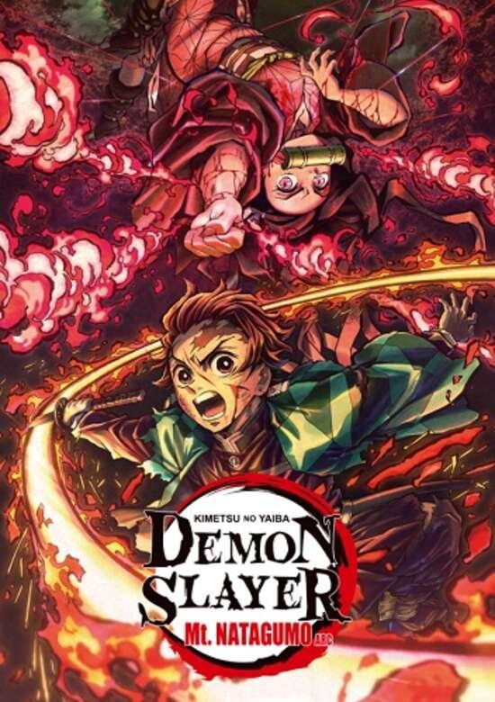 Kimetsu No Yaiba Recap Movie 2: Mt. Natagumo Arc