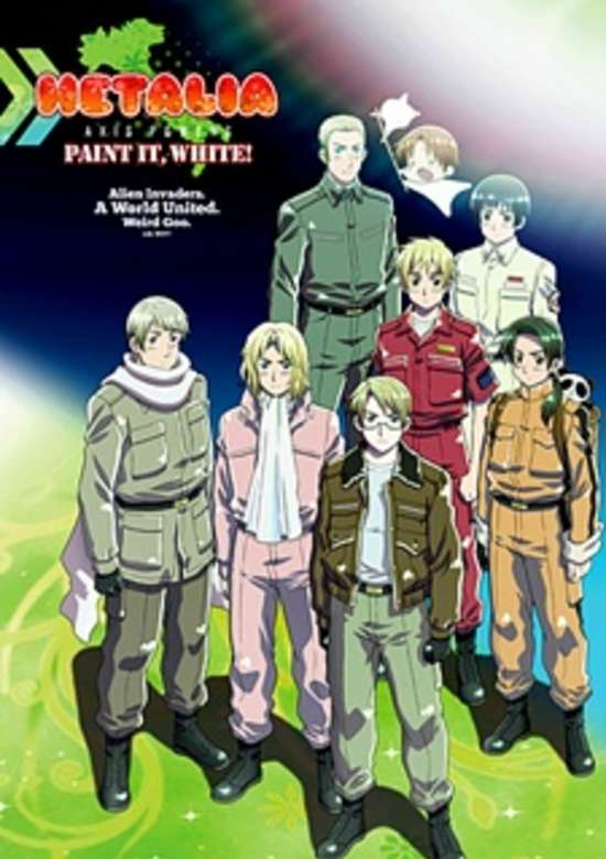 Hetalia: Axis Powers - Paint It, White!