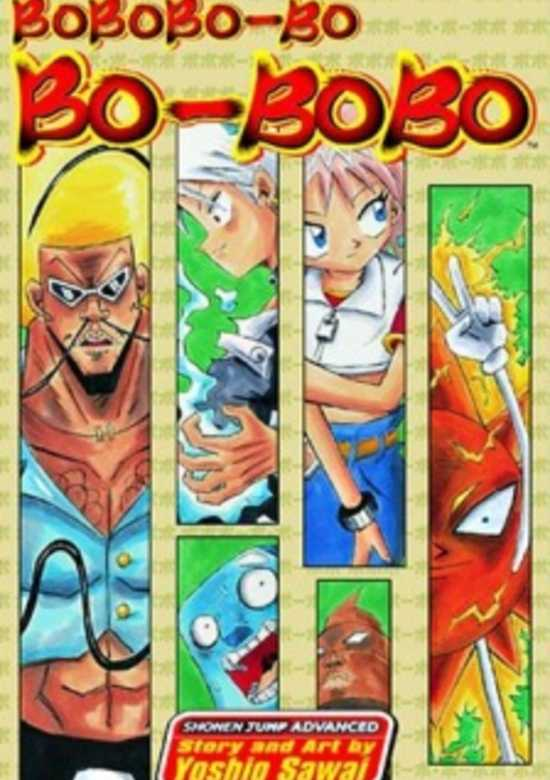 Characters Bobobo Bo Bo Bobo Manga Kitsu